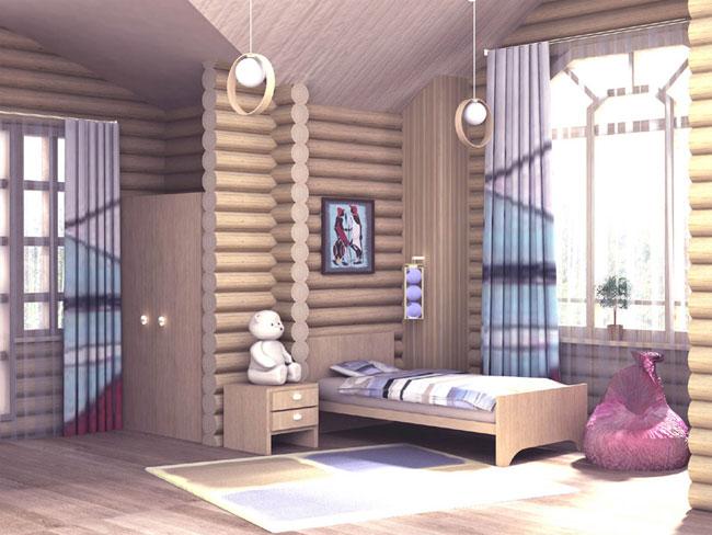 дизайн деревянные дома внутри фото
