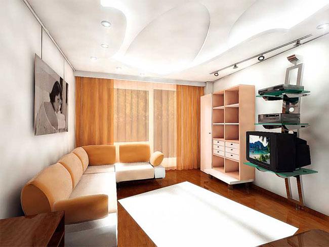 Дизайны комнат в стандартных квартирах