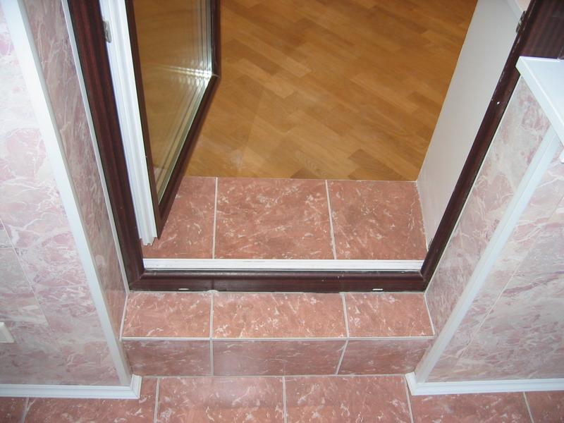 П 44 лоджия порог на балконе. - примеры ремонта - каталог ст.