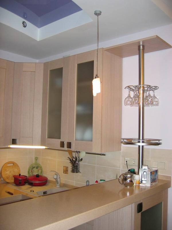 Дизайн кухни барная стойка фото