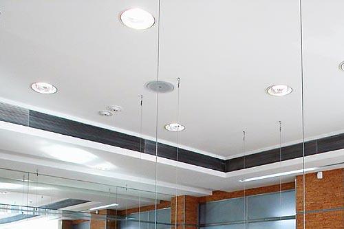 Faux plafond placo garage fort de france cout des for Faire faux plafond garage